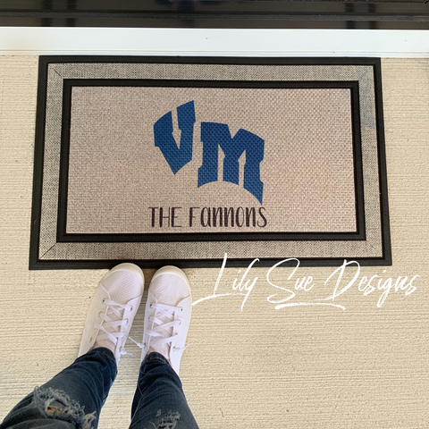 Indoor/outdoor VM rug