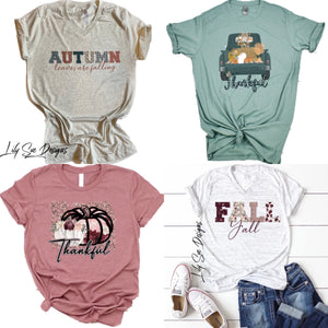 Adult Fall Tshirt