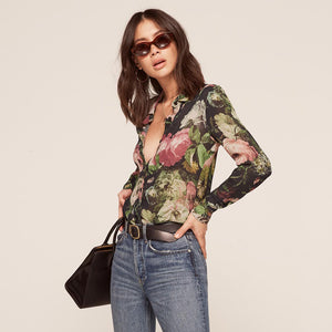 MISS YUN: Floral Top
