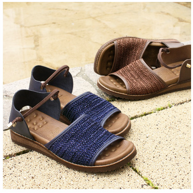 Super Comfortable Natural Straw Summer Flat