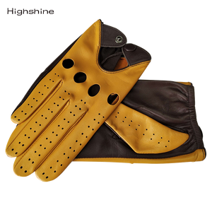 Genuine Leather Gloves With Breathable Goatskin
