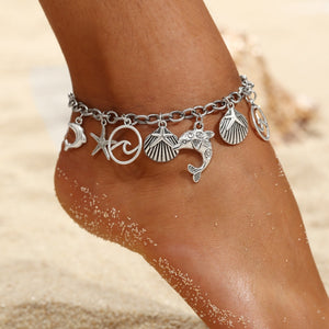 Caravan Maya 2019 Spring/Summer Anklet in Simple Silver