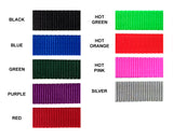 Harness Webbing Color Options