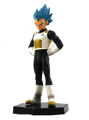 ** GRÁTIS ** Dragon Ball Super Vegeta SSGSS Action Figure - Anime Arts Brasil