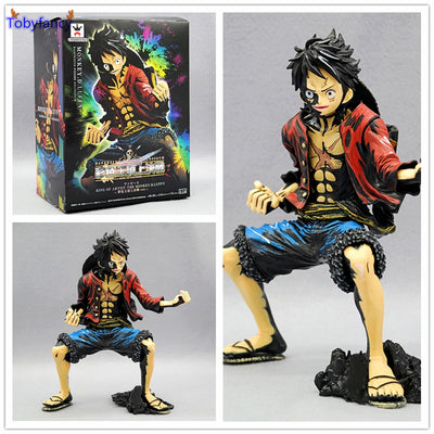 One Piece  Luffy Gear Action Figure - Anime Arts Brasil