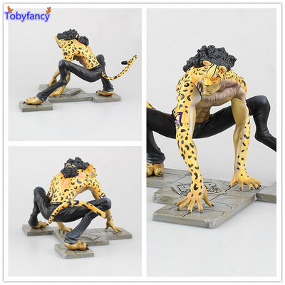 One Piece Rob Lucci Action Figure - Anime Arts Brasil
