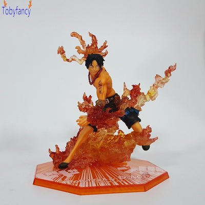 One Piece Ace e Luffy Action Figures - Anime Arts Brasil