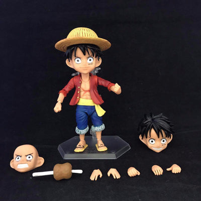 One Piece Monkey D Luffy Action Figures - Anime Arts Brasil