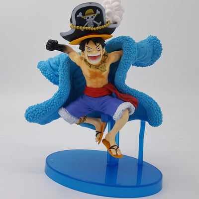One Piece Luffy Action Figure 10cm - Anime Arts Brasil