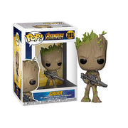 Funko Pop Groot Armado Número 293 - Anime Arts Brasil