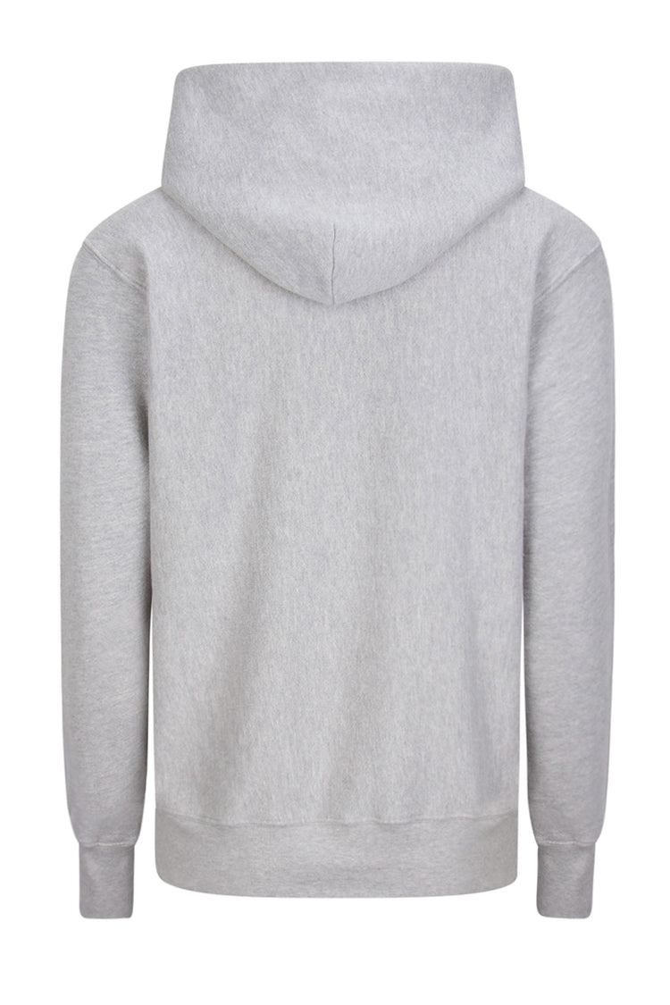 Crop Hoodie Heather Grey image-2