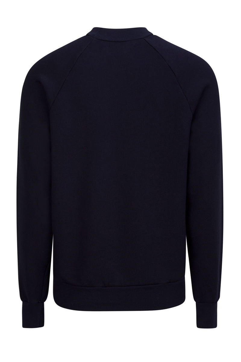 Mock Neck Raglan Navy image-2