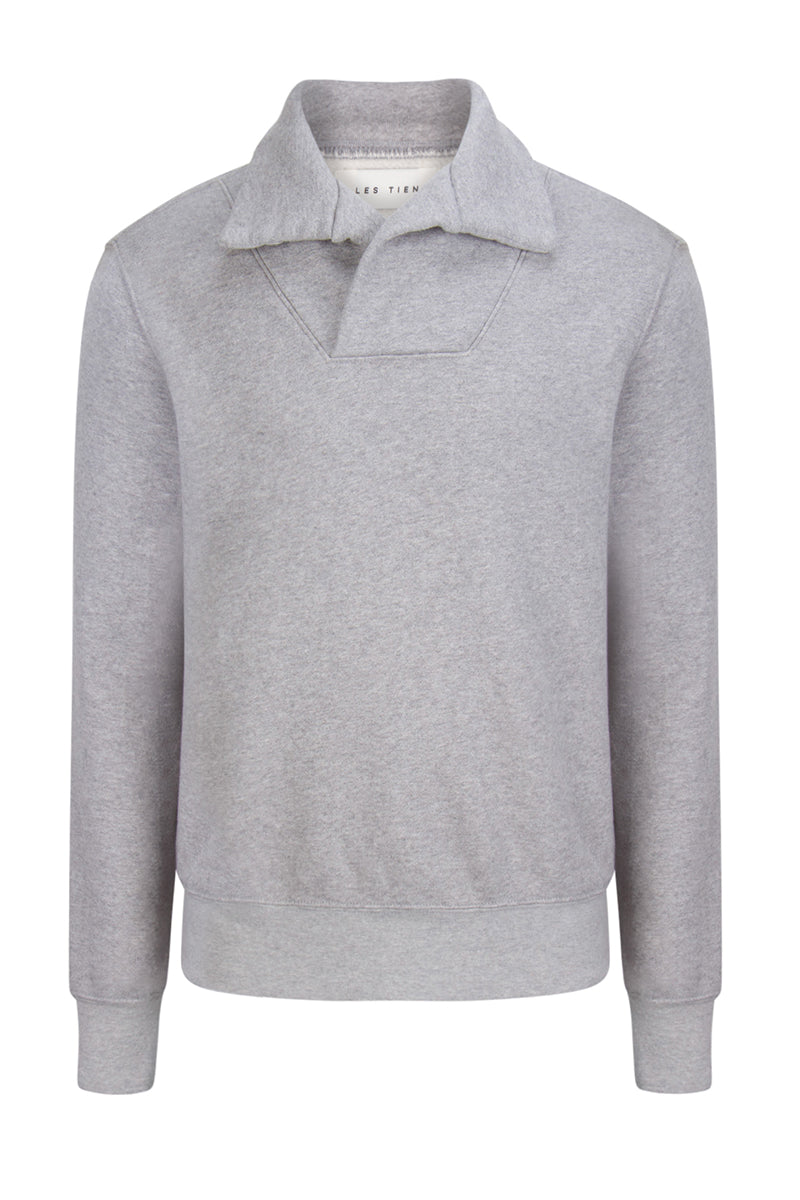 Yacht Pullover Heather Grey image-1