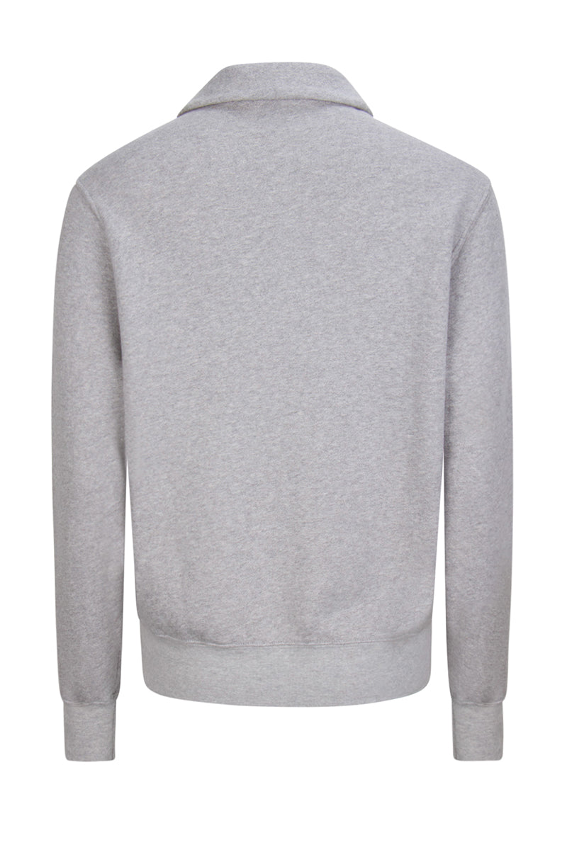 Yacht Pullover Heather Grey image-2