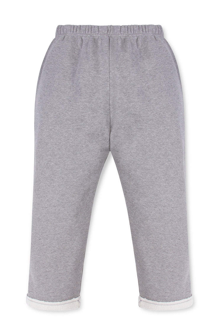 Snap Front Pant Heather Grey image-2