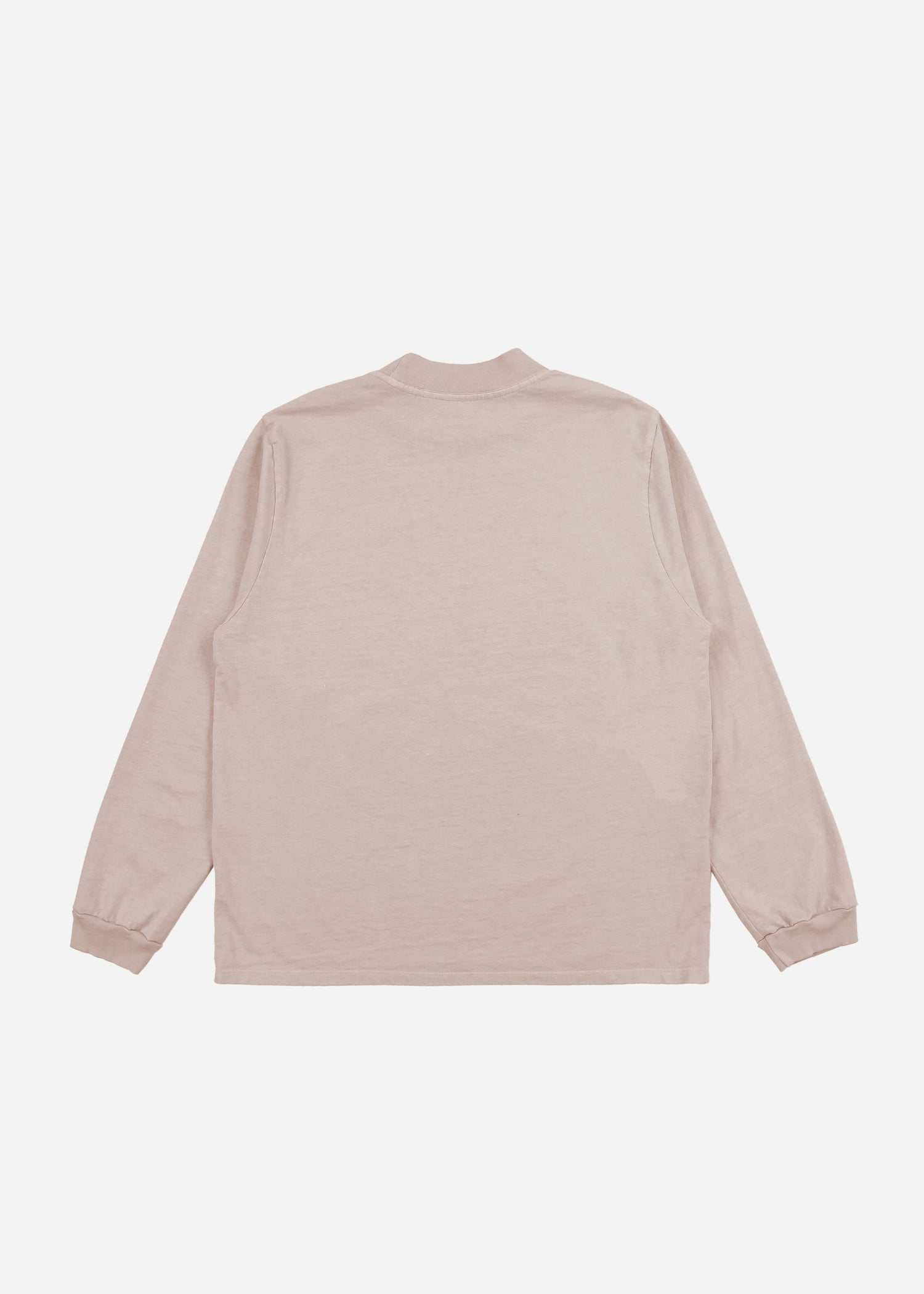 Mock Neck Long Sleeve Mauve image-6