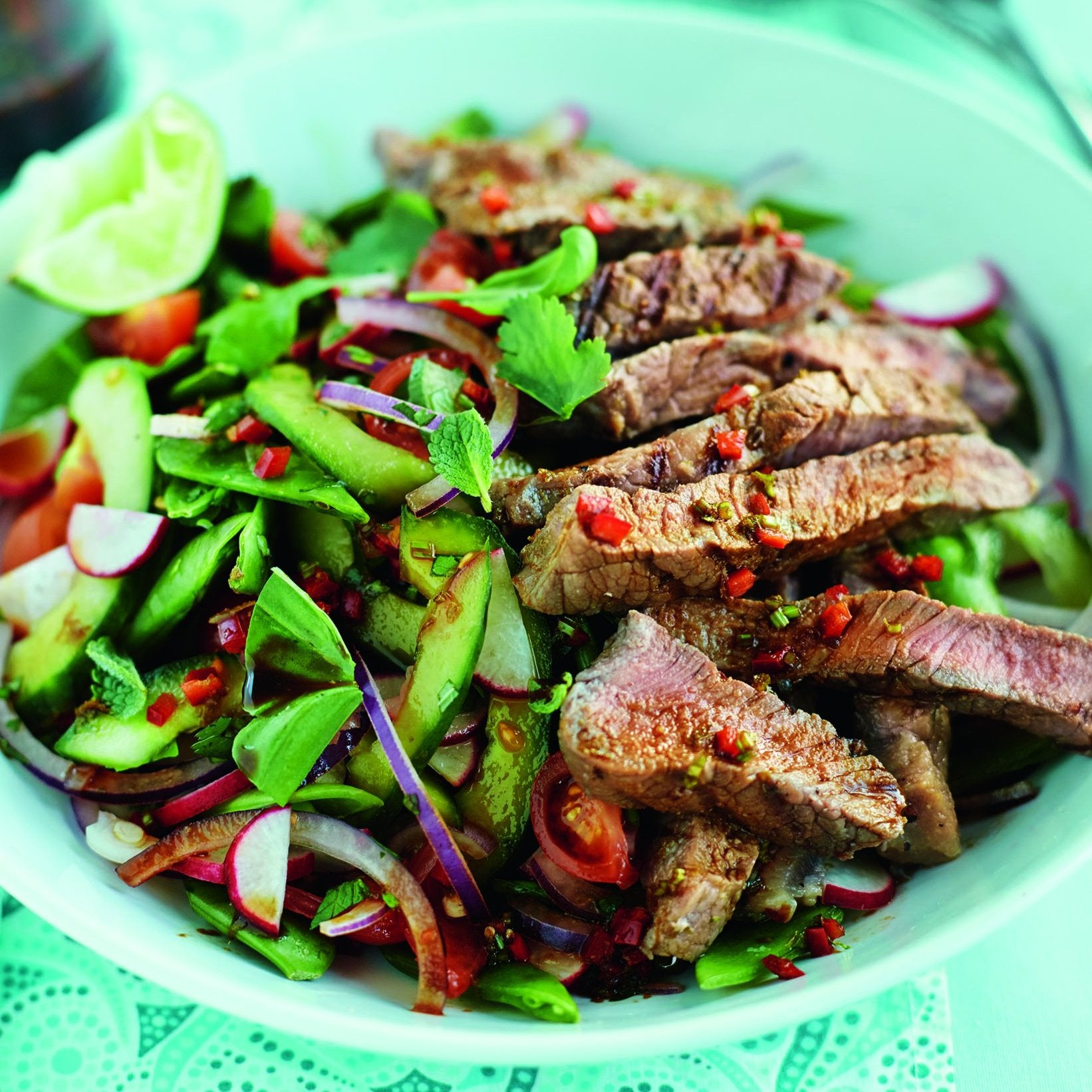 Tamari Steak Salad