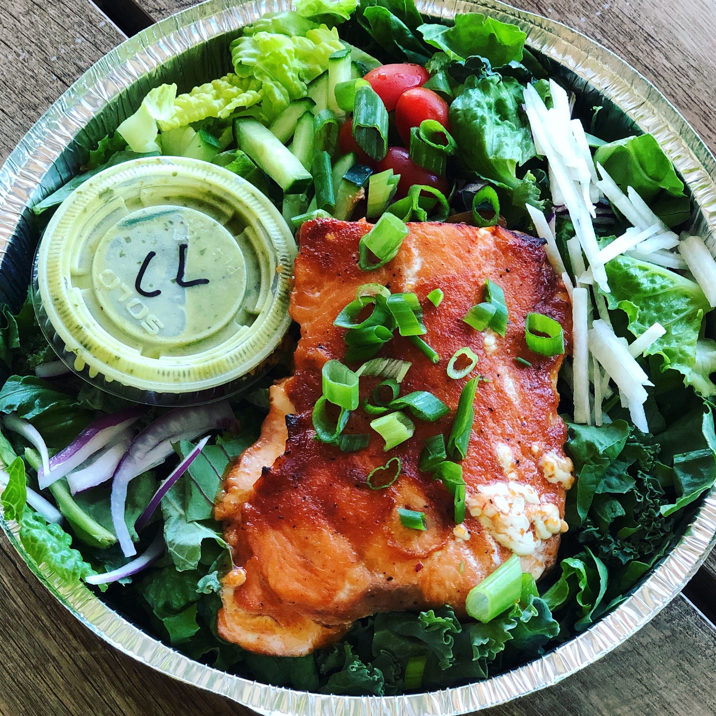 Hawaiian Salmon Salad