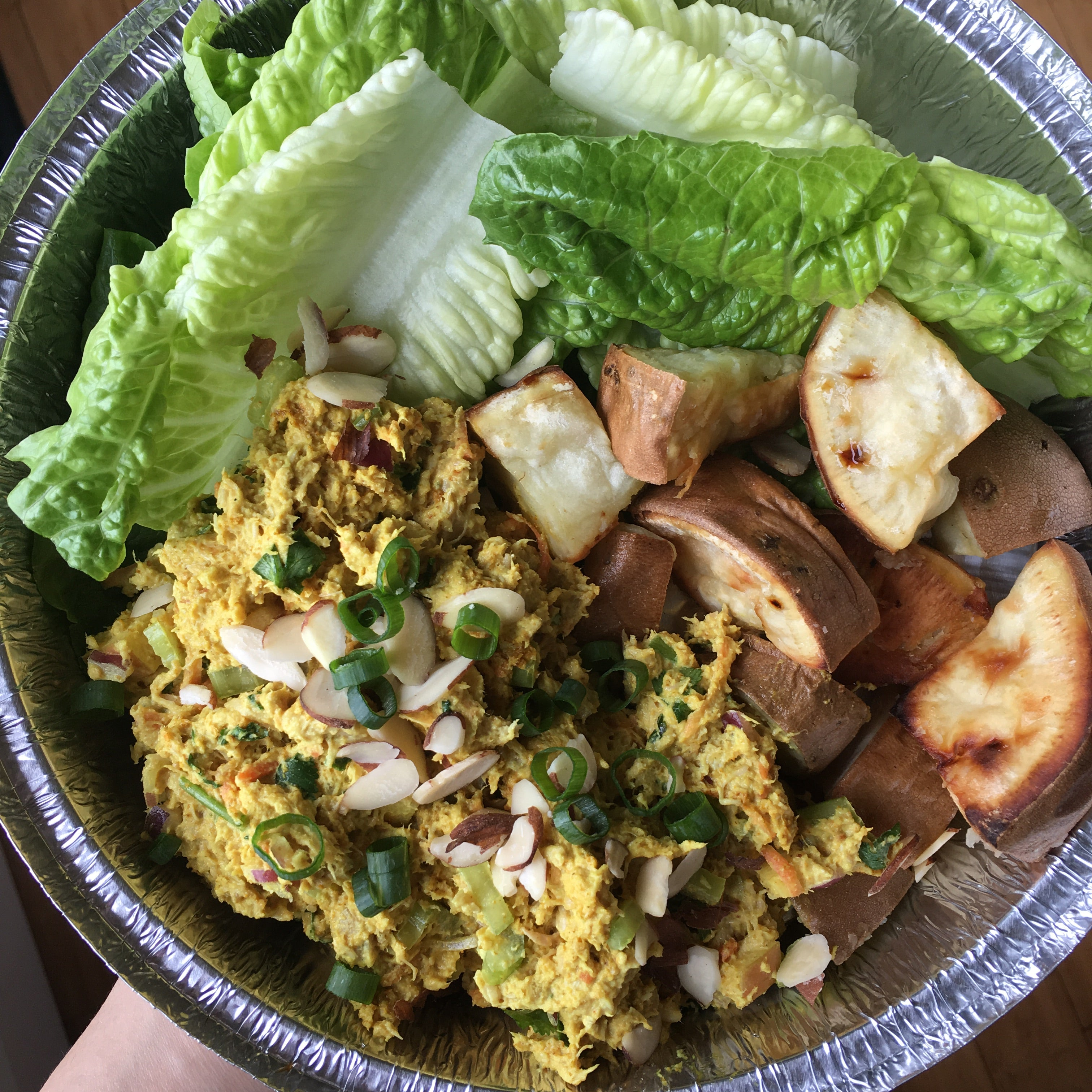 Curry Chicken Salad Bowl