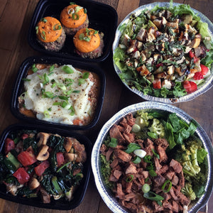 THE WORKWEEK PLAN - 5 meals for 1 person