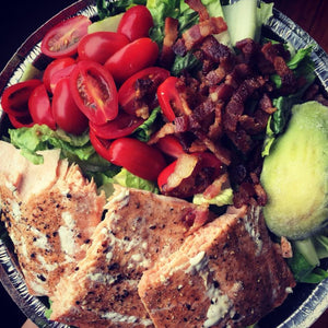 BLT Salmon Salad