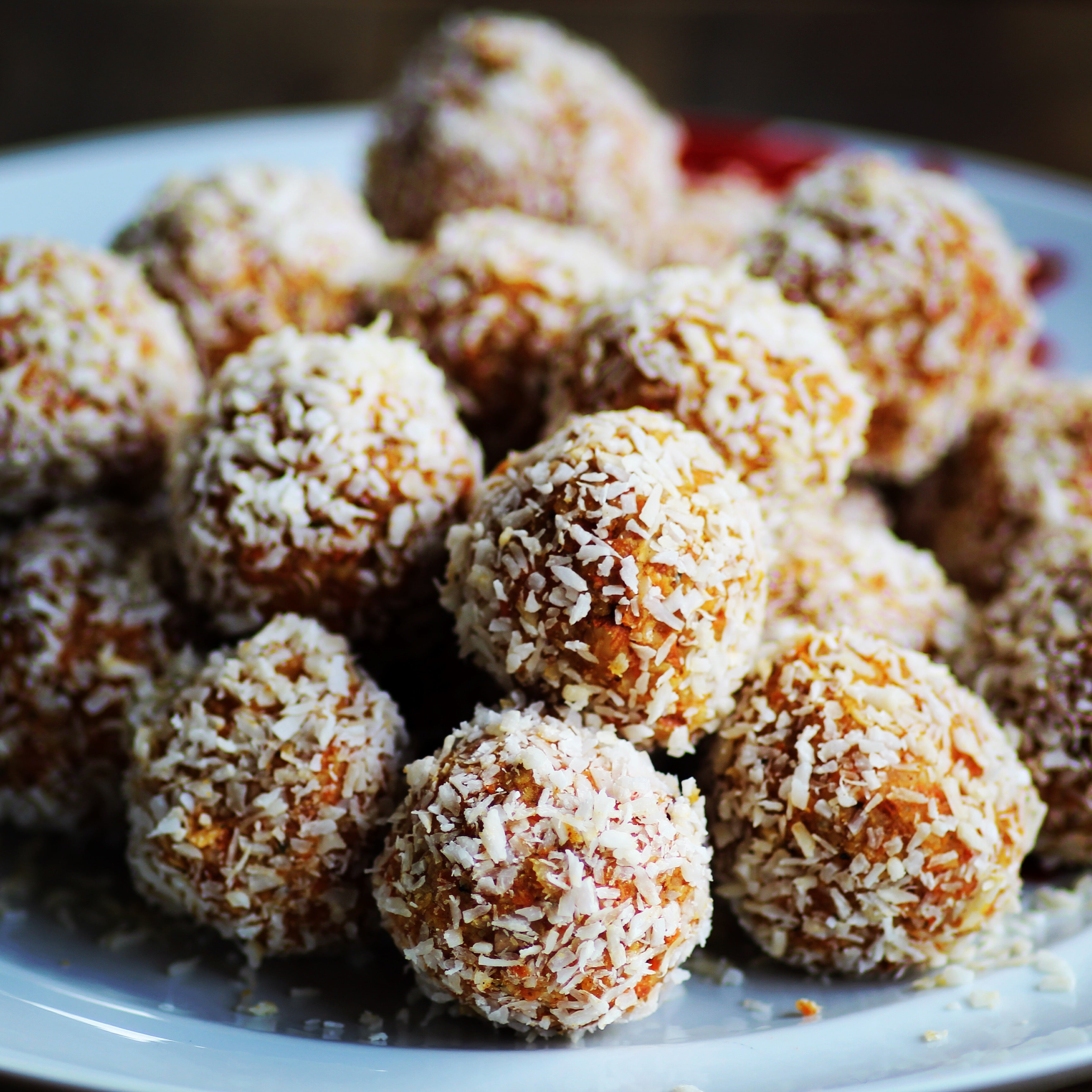 Apple Walnut Snack Balls