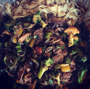 Asian Beef Noodle Stir Fry