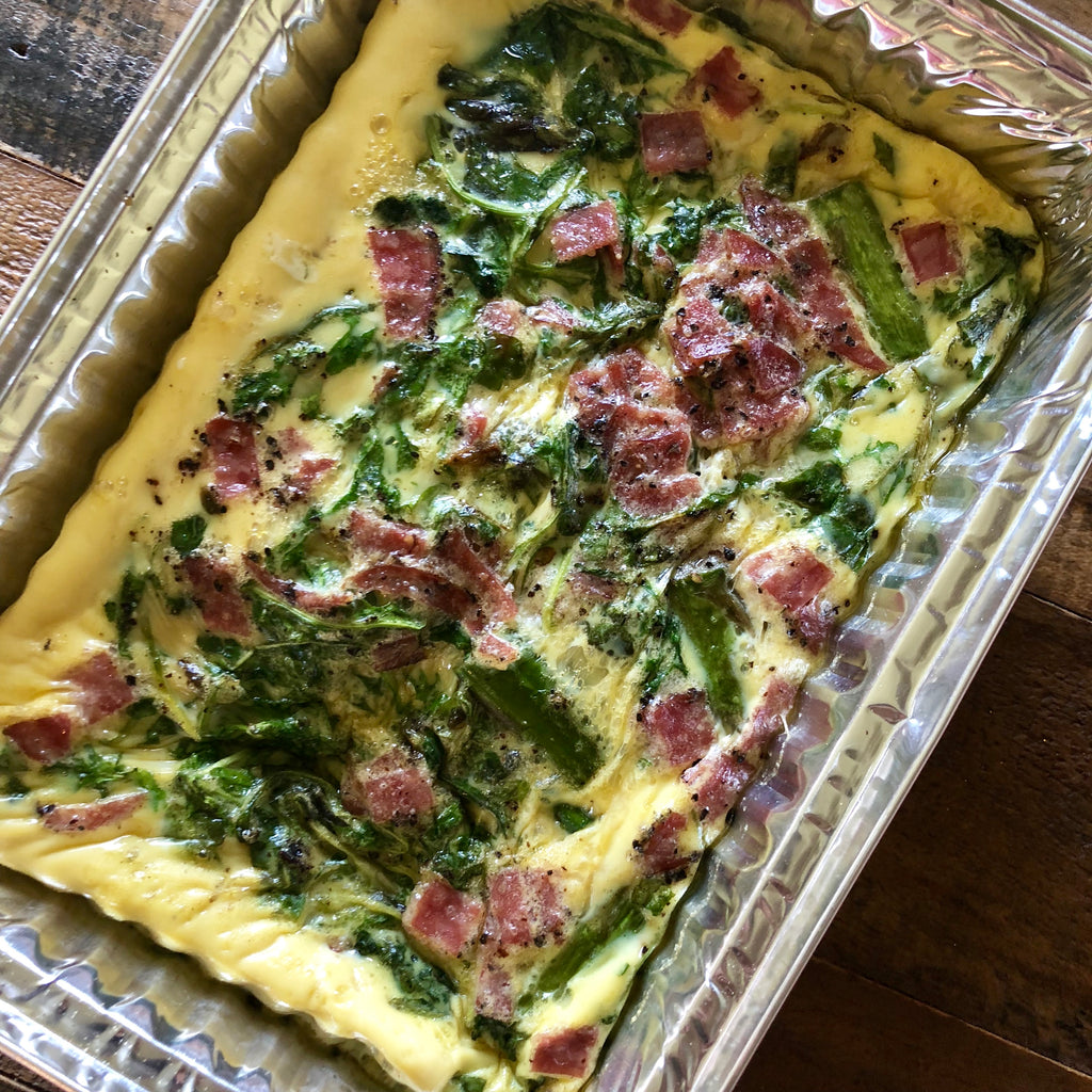 Asparagus and Sausage Frittata
