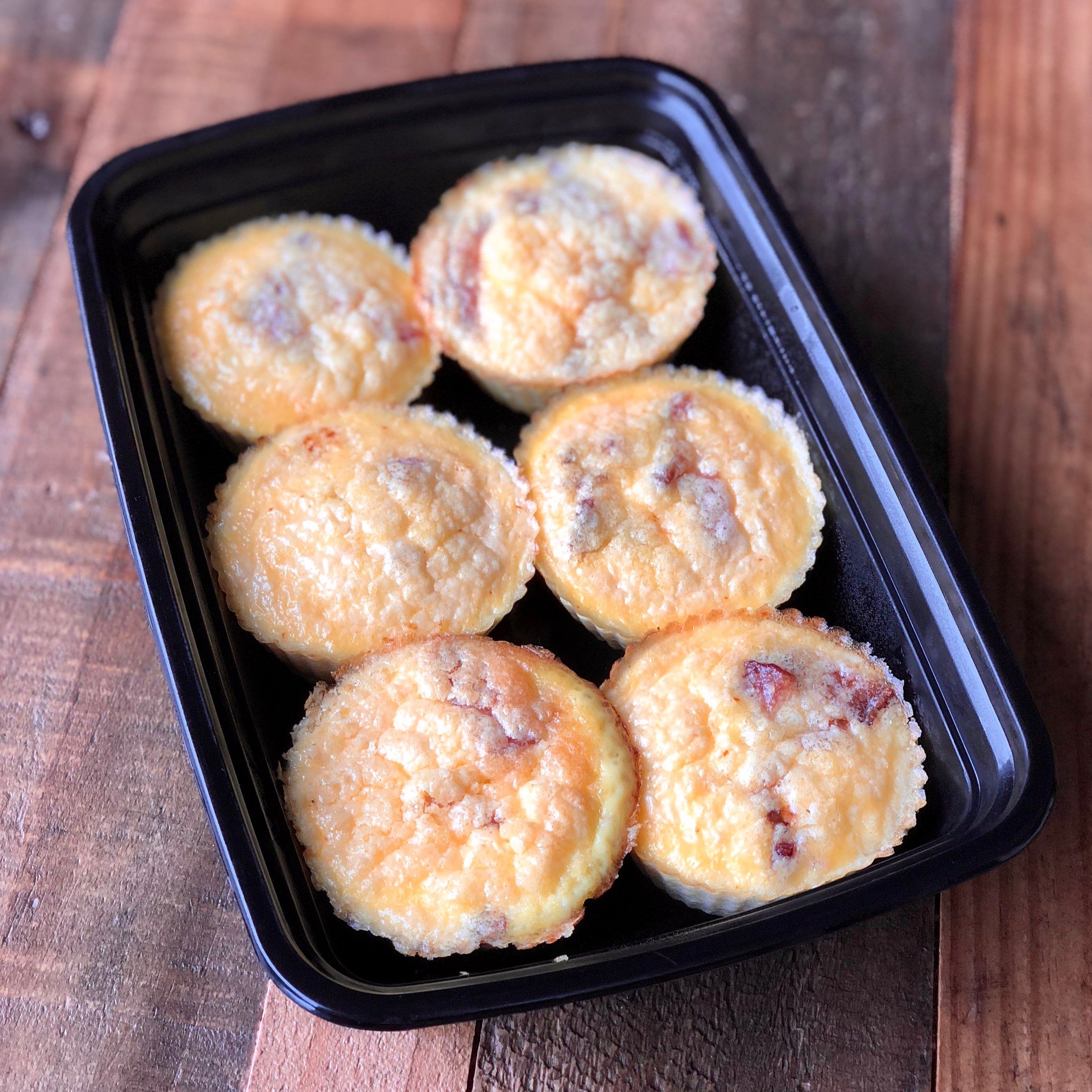 Bacon and Gruyere Egg Muffins