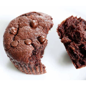 Keto Peanut Butter Chocolate Muffins