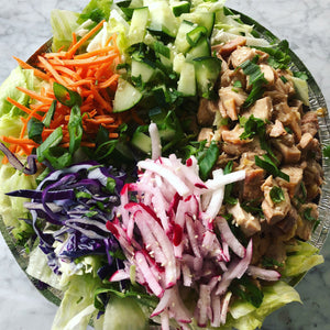 Chinese Chicken Chopped Salad