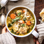 Italian wedding meatball soup