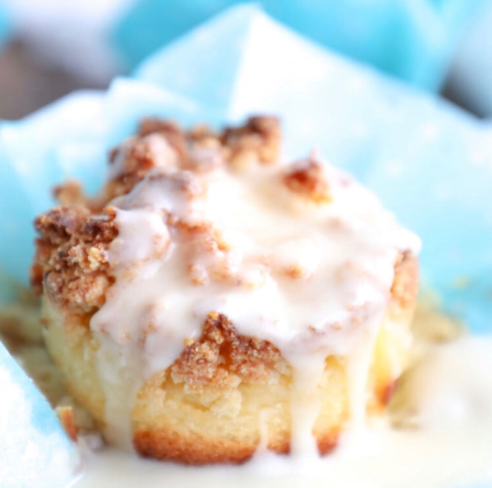 Keto Lemon Sour Cream Muffins