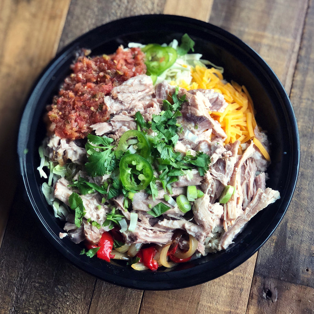 Carnitas Pork Bowl