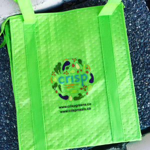 Reusable Insulated Shopping Bag -GREEN