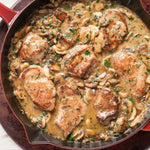 Tender Pork Marsala