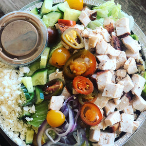 Chicken Kebab Salad