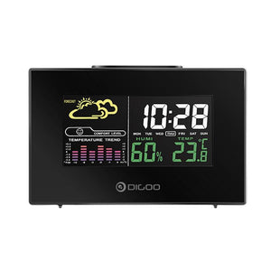 USB Alarm Clock with Weather Forecast Station