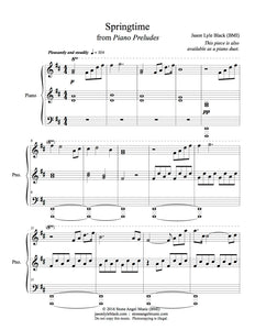 Piano Preludes PDF Sheet Music