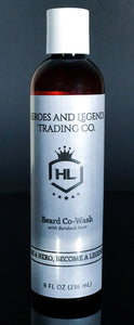 Beard Co-Wash with Burdock Root, choose your scent