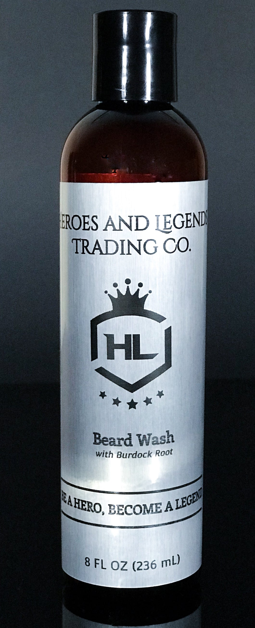 Beard Wash with Burdock Root, choose your scent