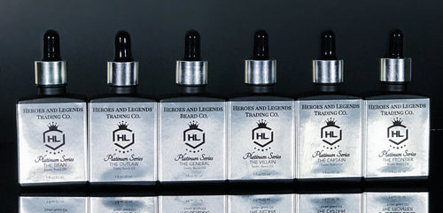 Platinum Series EXOTIC BEARD OIL, choose your scent