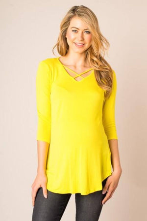 Jersey Knit Top with Long Sleeves