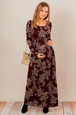 Floral printed Maternity Dress