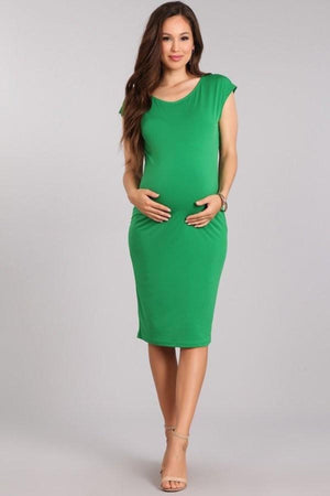 Maternity Midi Bodycon Dress