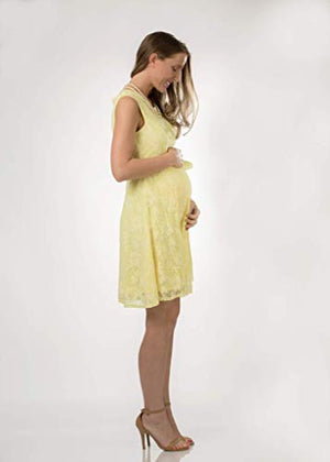 Lace Maternity Dress for Photoshoot Baby Shower Regular Plus Size Dresses