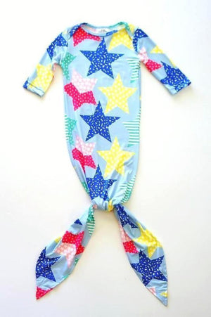 Infant Sleep Gown Tie in the bottom