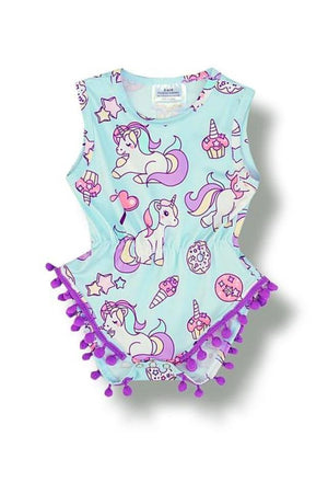 Unicorn Romper