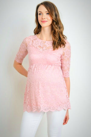 Lace Maternity Top - ON SALE