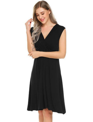 Casual Maternity Nursing Nightdress